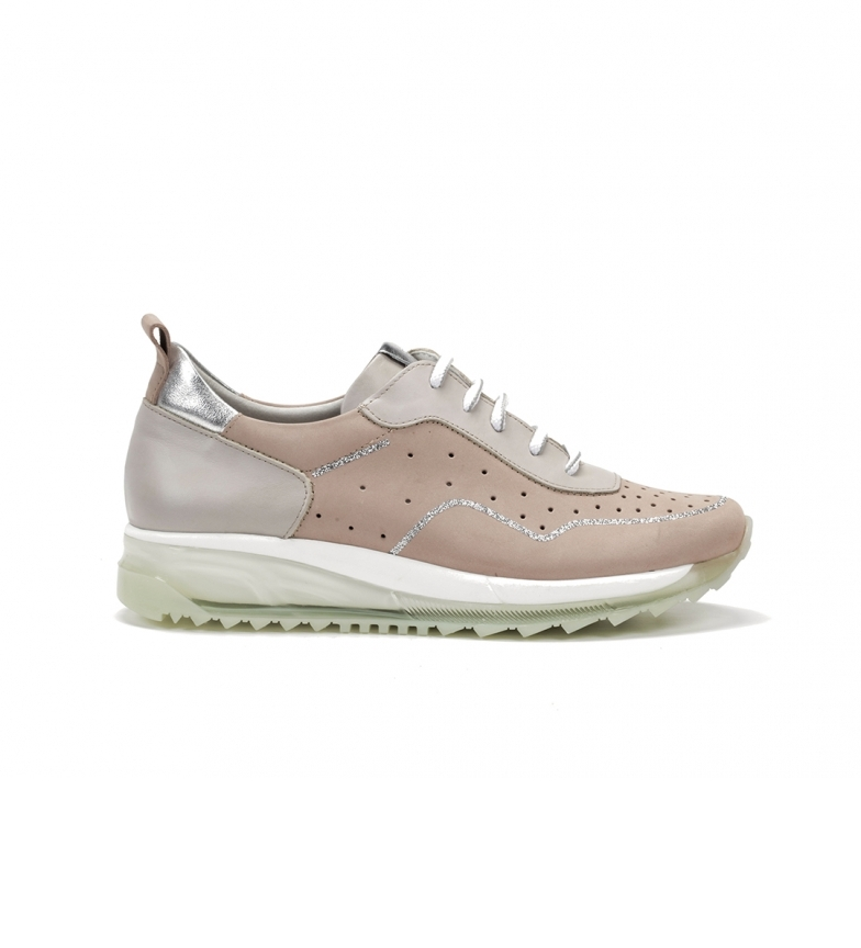 Comprar Dorking Leather sneakers D8201NBSLA pink, taupe, silver