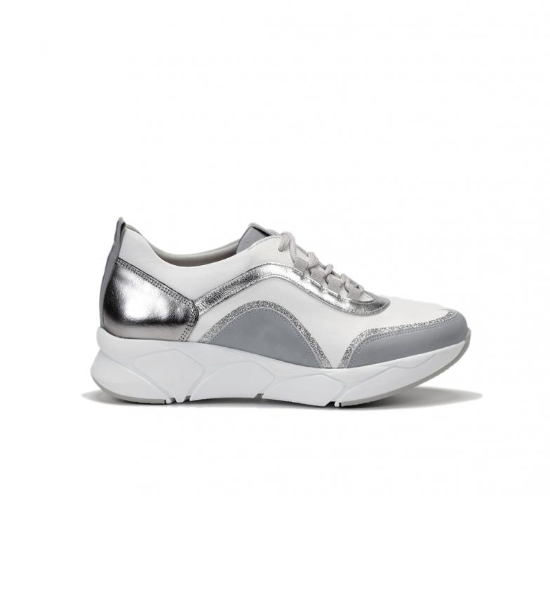 Comprar Dorking Zapatillas de piel Cocoa D8209 blanco, plata