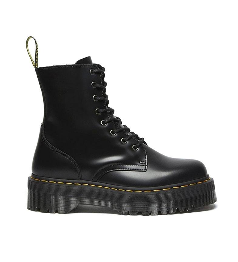 Dr Martens Quad Retro Jadon black leather boots -Platform height: 4 cm