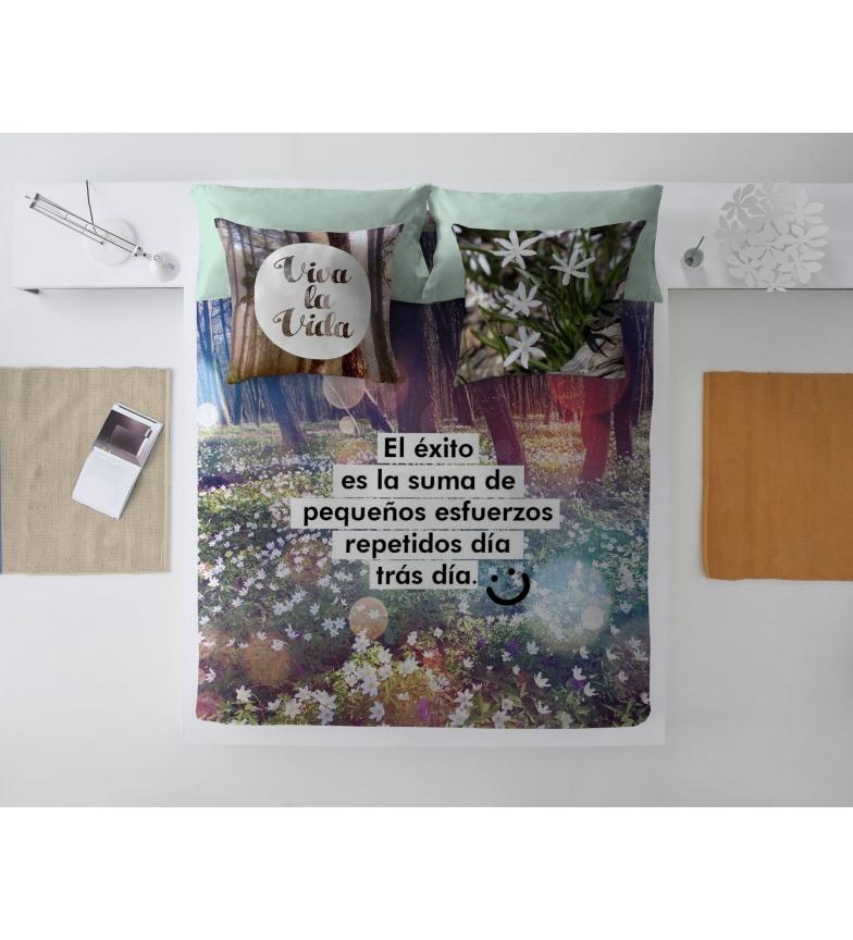 Comprar DREAM&FUN; Capa de edredão 2-peça Viva la vida -Cama 135 cm