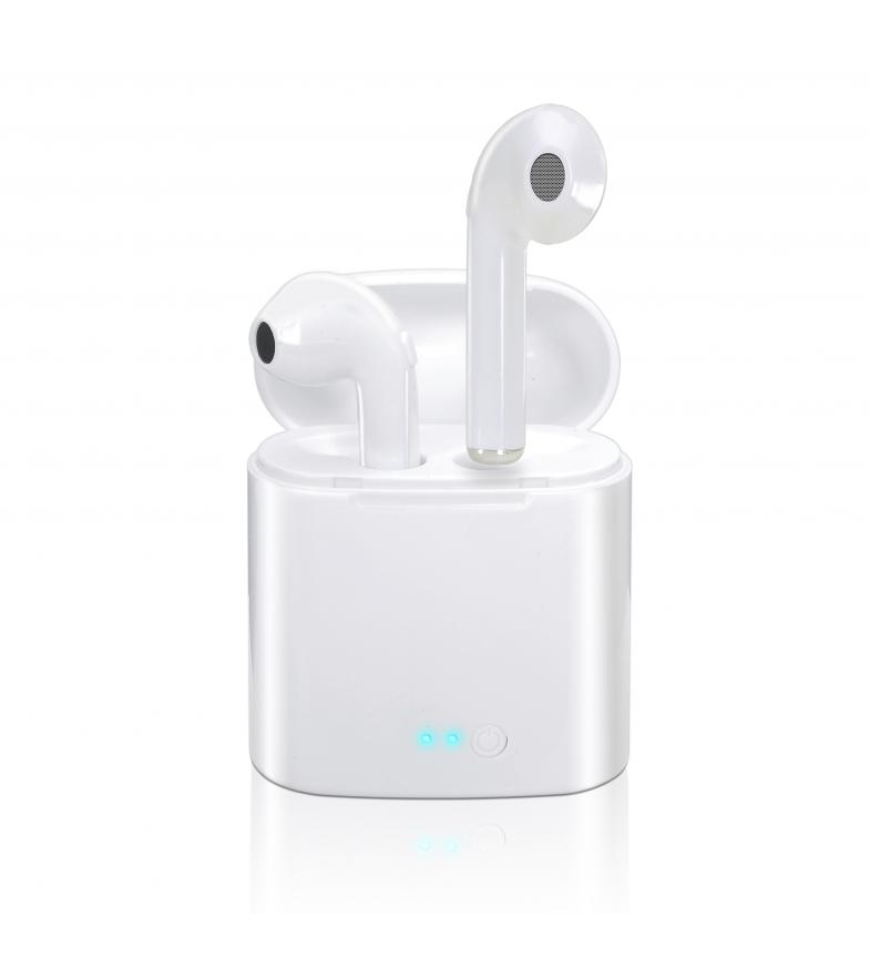 Comprar DSB Auriculares wireless Whitey con base de carga portátil blanco