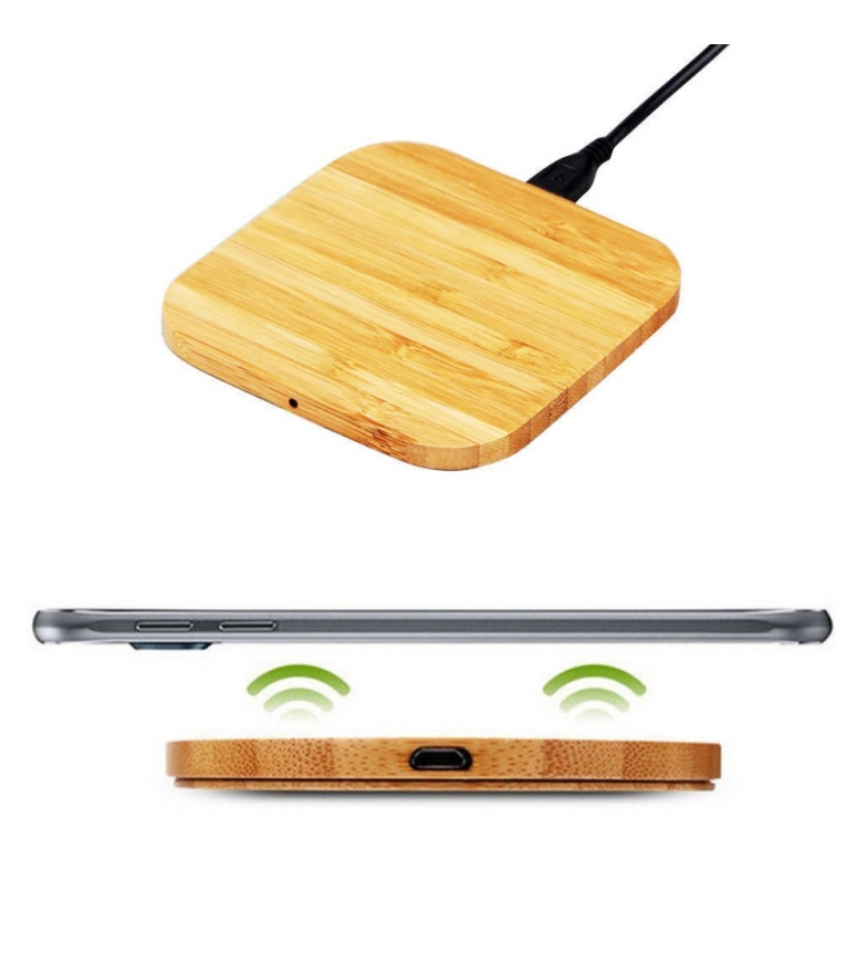 Comprar DSB Base de carregamento sem fio de bambu