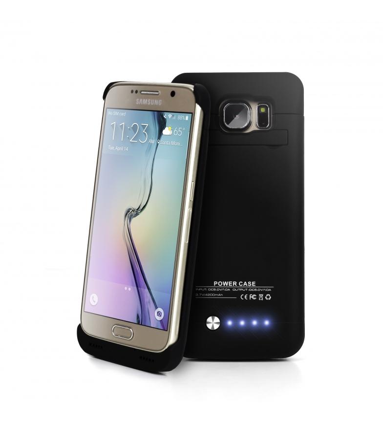 Comprar DSB Custodia con batteria 3800mAh per Samsung Galaxy SV6 e S6 Black Edge