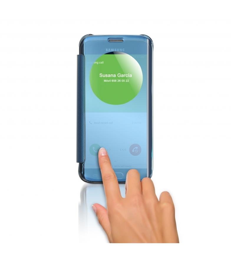 Comprar DSB Custodia Easy Answer per Galaxy S6 Edge Light Blue