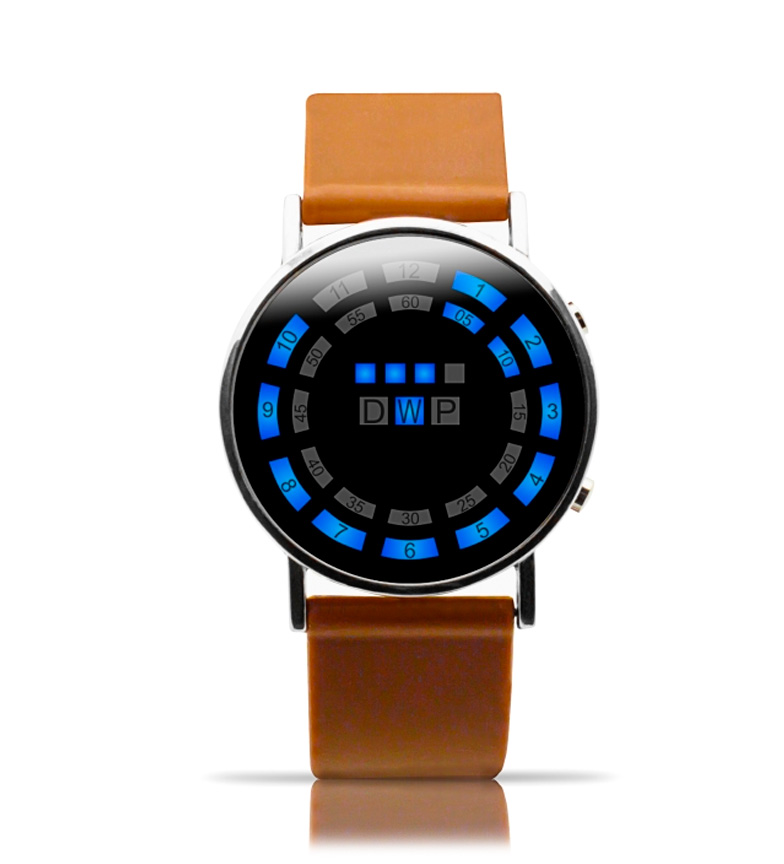 Comprar DSB LED watch UNISEX Ender Brown