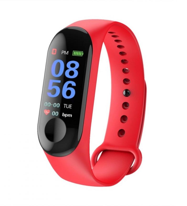 Comprar DSB SmartBand Mapan Pro rojo  -Android e iOS / Bluetooth 4.0-
