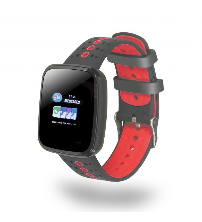 Comprar DSB Smartwatch Elite Sport PRE Rojo -Android 4.2 e iOS 7.0 / IP67 / Bluetooth 4.0-