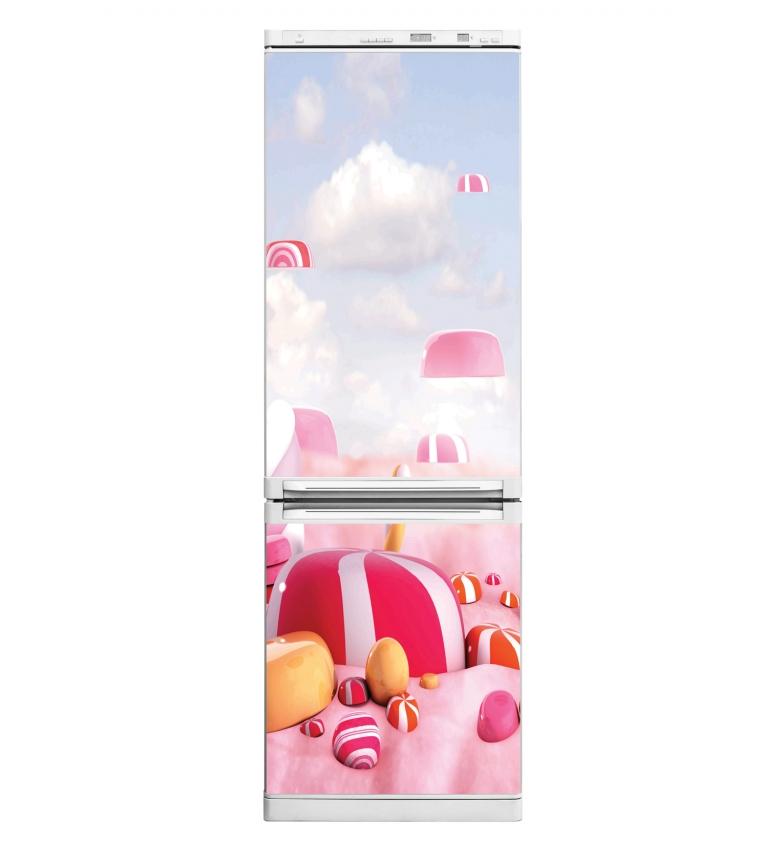 Comprar DSB Adesivo de vinil para Candy Land Geladeira