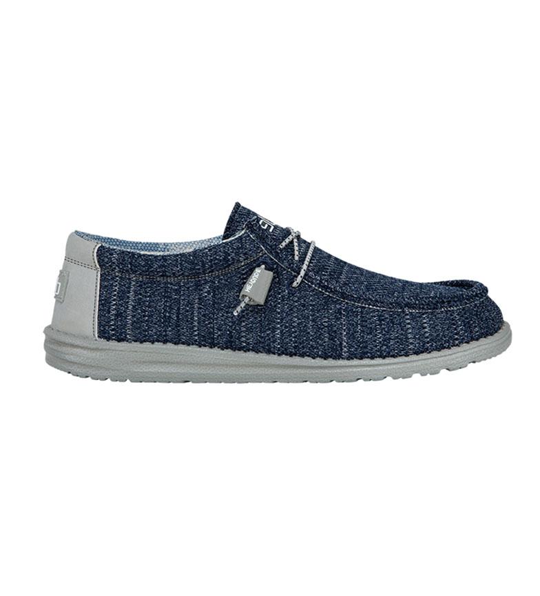 HeyDude Marinha Wally Sox Shoes