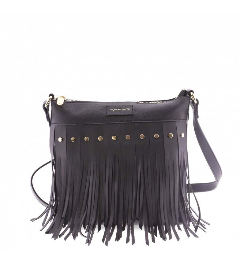 Comprar EFERRI EFERRI Doucier shoulder bag black -26x4x26cm
