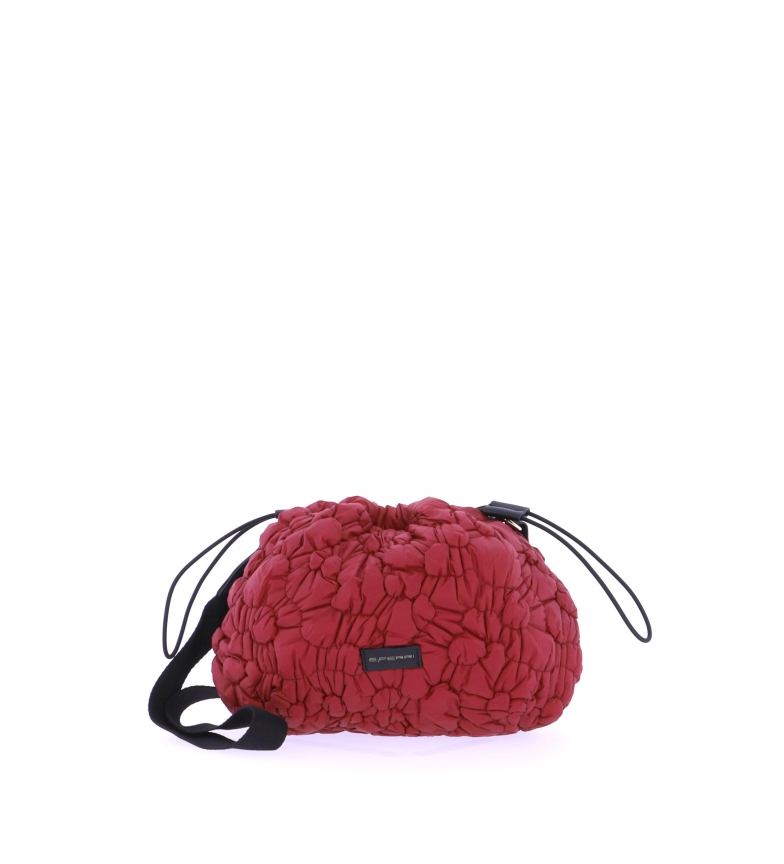 Comprar EFERRI Bolsa de ombro EFERRI Loulle vermelha -35x13x25cm