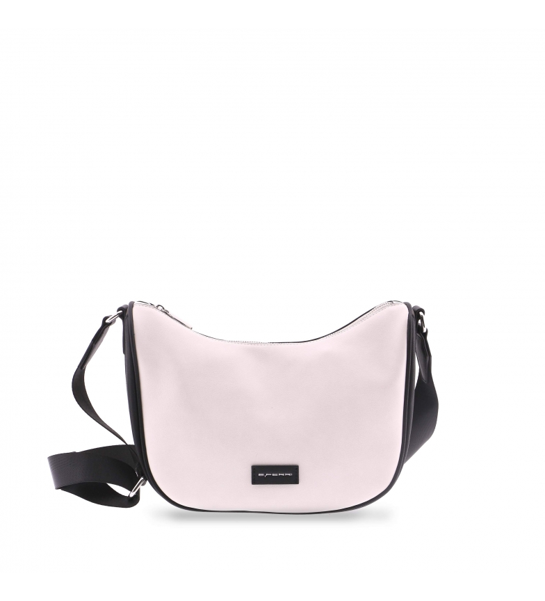Comprar EFERRI Meyrin shoulder bag from EFERRI ivory -30x13x25cm