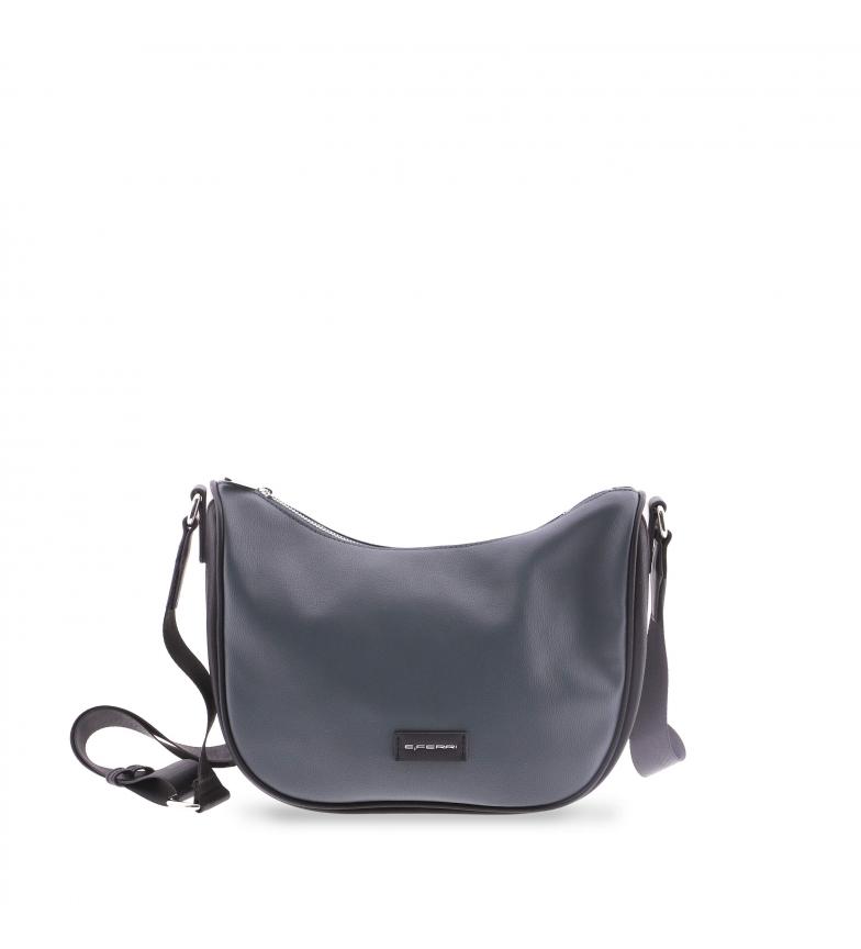 Comprar EFERRI Meyrin shoulder bag from EFERRI marine -30x13x25cm