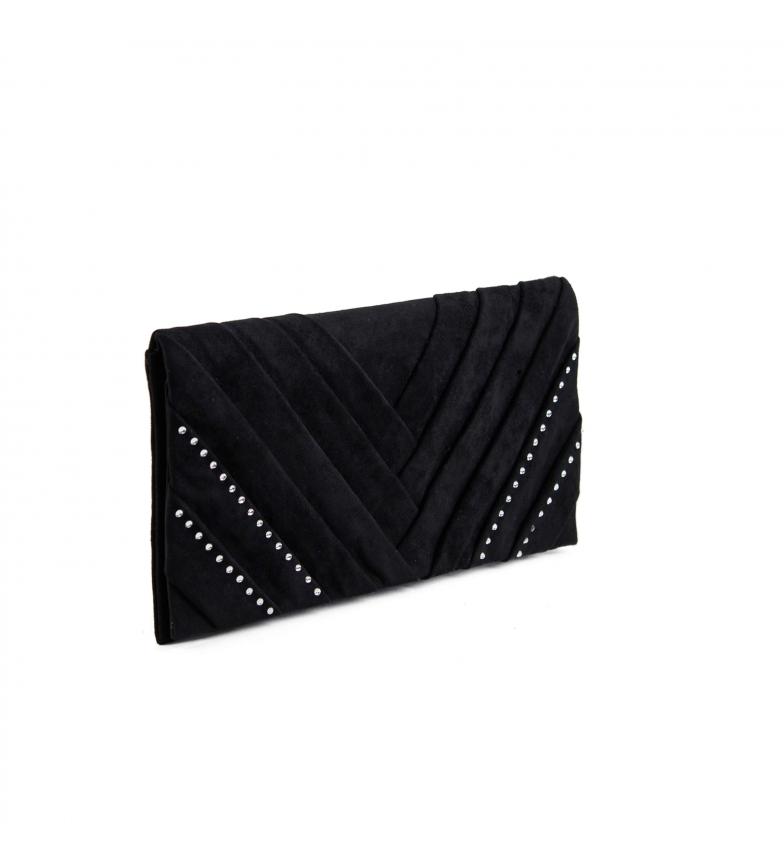 Comprar EFERRI Anastasia EFERRI borsa da festa nera -28X15cm-