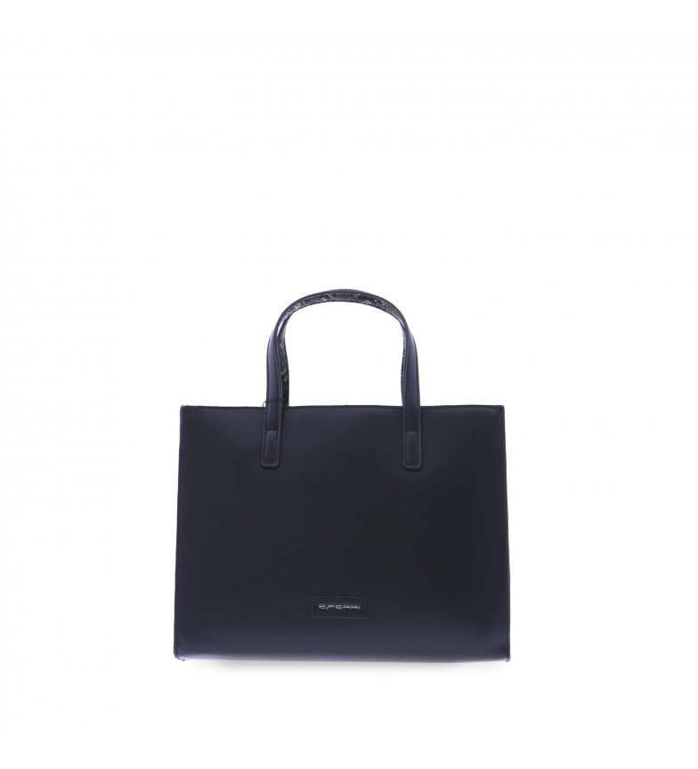Comprar EFERRI EFERRI Viry shoulder bag black -32x12x25cm