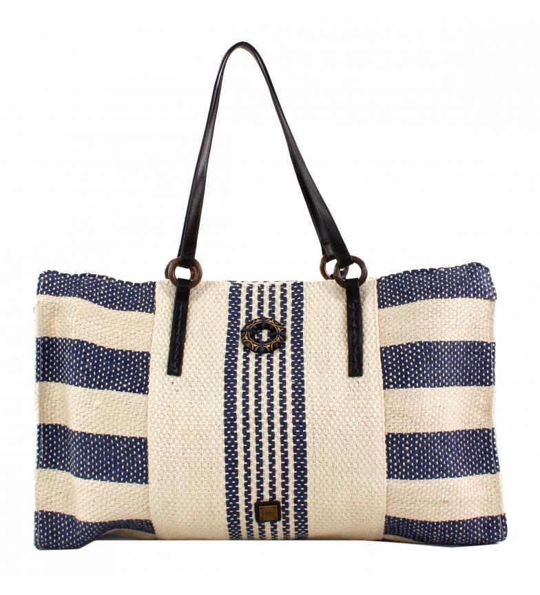 Comprar EFERRI Zuria blue canvas carry-on bag