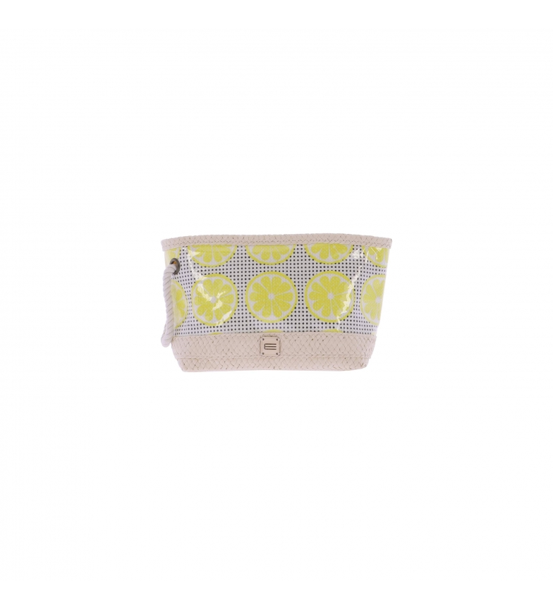 Comprar EFERRI Mala de papel de Karasu amarelo -34x18x10 cm