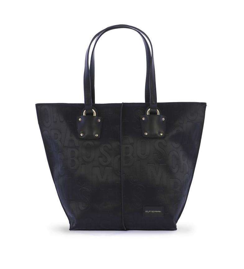 Comprar EFERRI EFERRI Words shopper bag preto -47x32x32x17cm