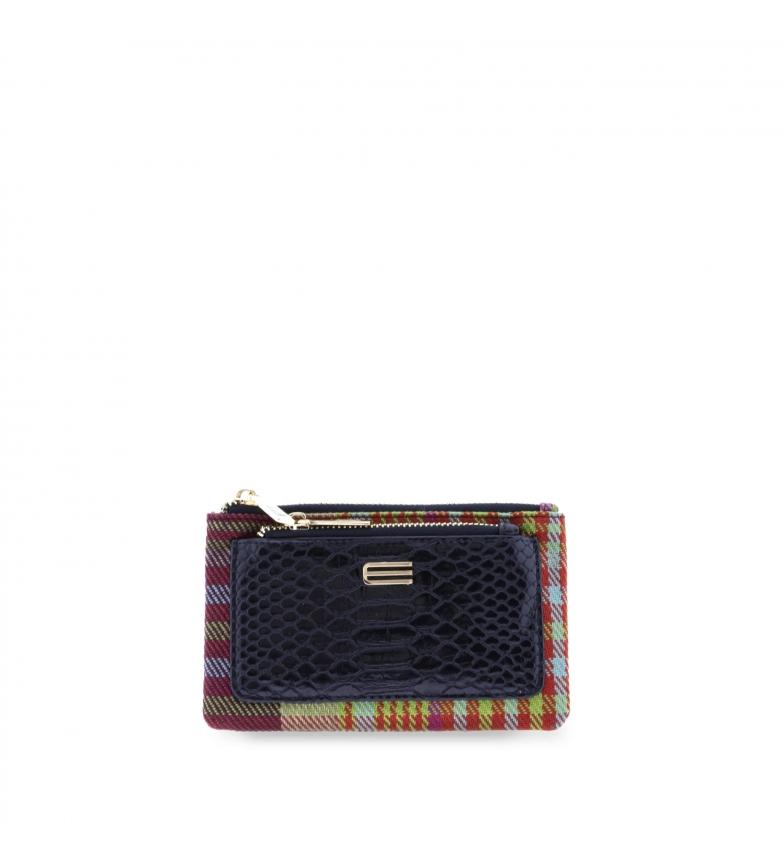 Comprar EFERRI Madras EFERRI card holder wallet black -17x10x2cm
