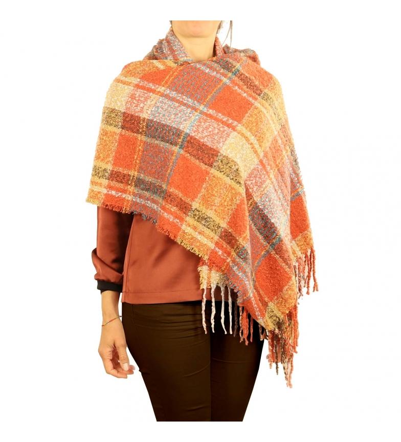 Comprar EFERRI Pashmina Filo naranja -67x170cm-