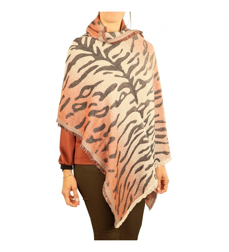 Comprar EFERRI Tigre Pashmina Cinza -70x180 cm