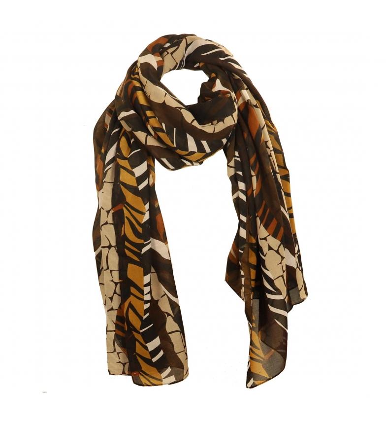 Comprar EFERRI Pañuelo Orange Animal marrón -105x180 cm-