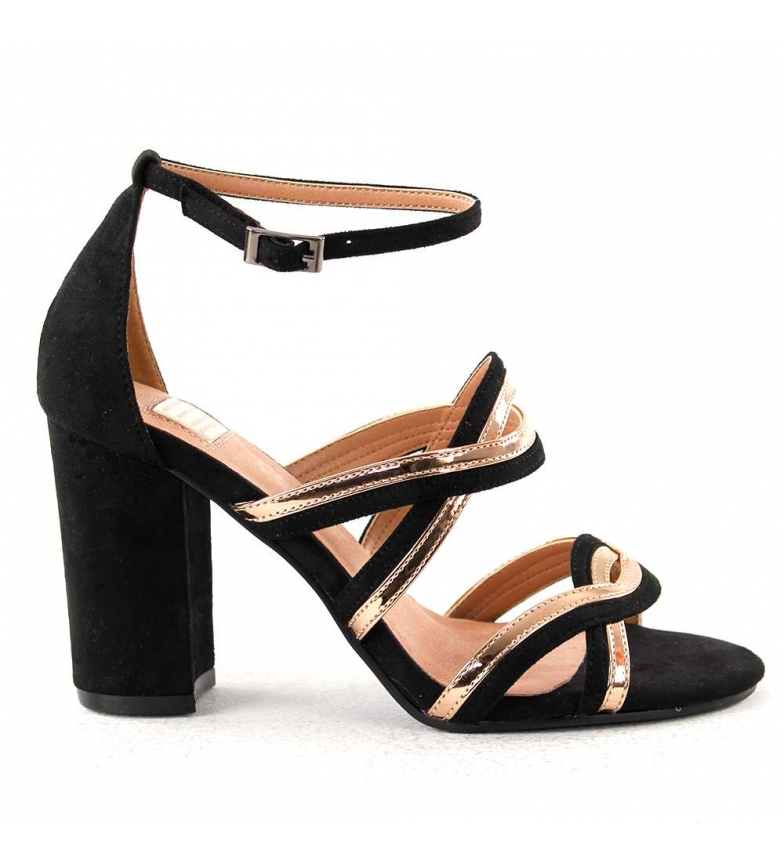 Comprar EFERRI Amparo gold party sandals -Heel height: 8.5cm
