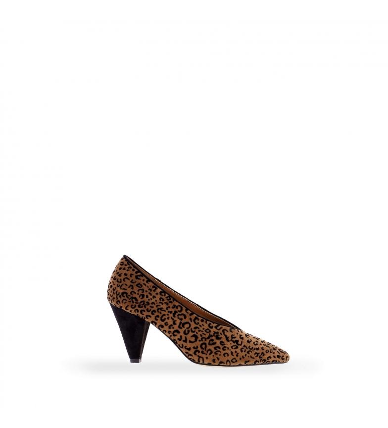 Comprar EFERRI Scarpe da sera marrone Moraches -Altezza del tacco: 5 cm-