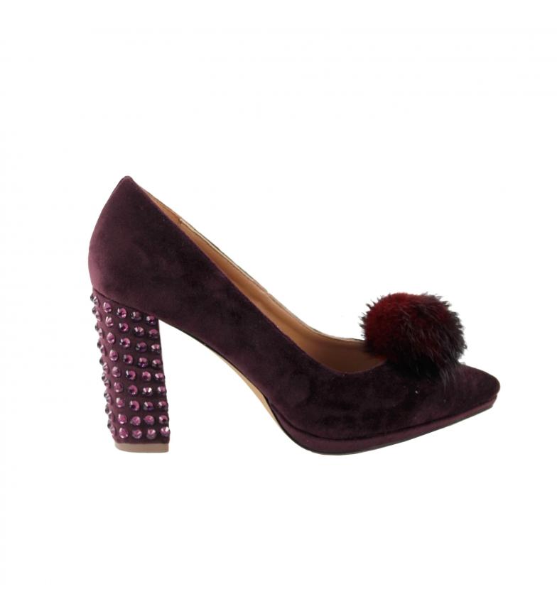 Comprar EFERRI Zapato de fiesta Rabbit de EFERRI burdeos -Altura tacón: 9cm-