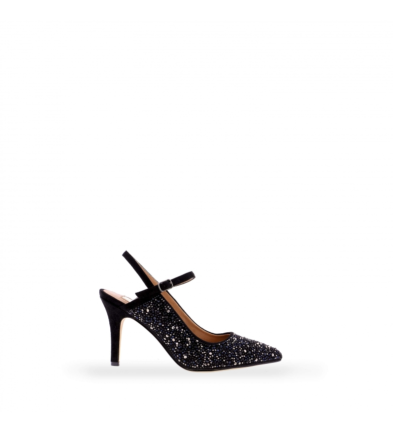 Comprar EFERRI EFERRI Round party shoe black -Heel height: 7cm