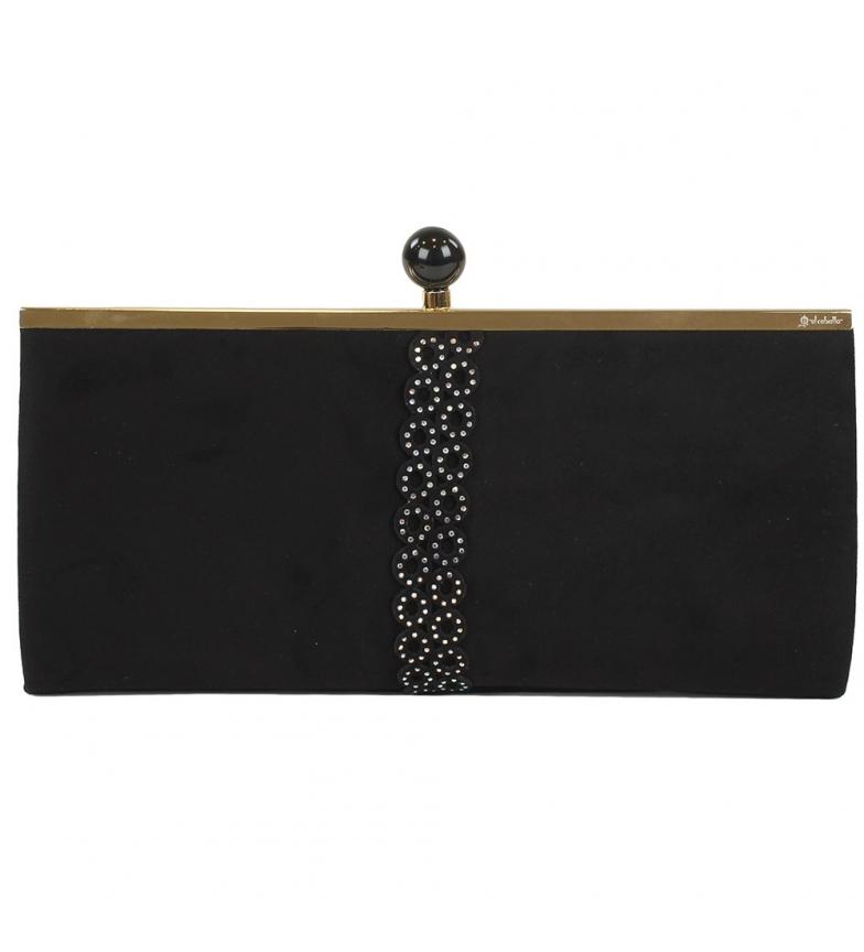Comprar El Caballo Góngora sac de fête noir -31x15x4.5 cm