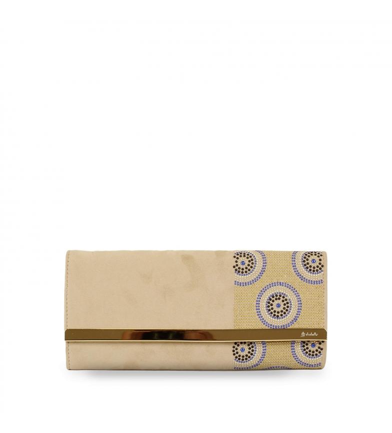 Comprar El Caballo Bolso de fiesta Utrera beige -29x13x3 cm-