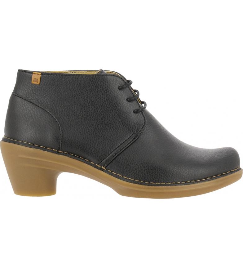 Comprar EL NATURALISTA Vegan ankle boots N5326t black -Heel height: 5,5cm