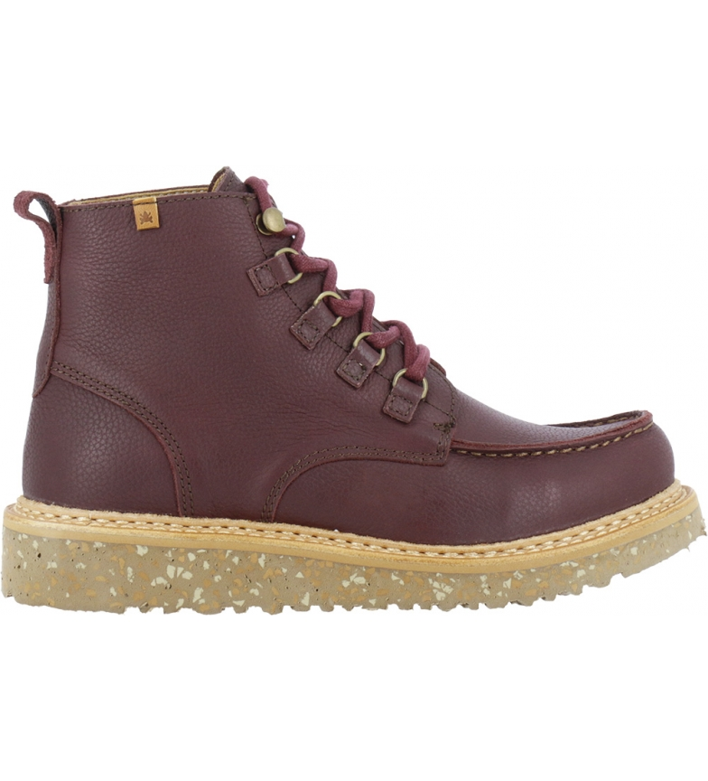 Comprar EL NATURALISTA Slate leather ankle boots N5550 maroon