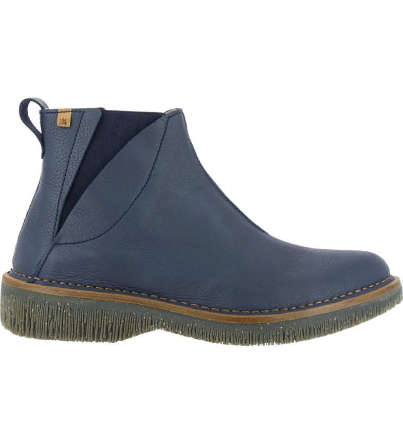 Comprar EL NATURALISTA Leather boots N5570 Soft Grain blue