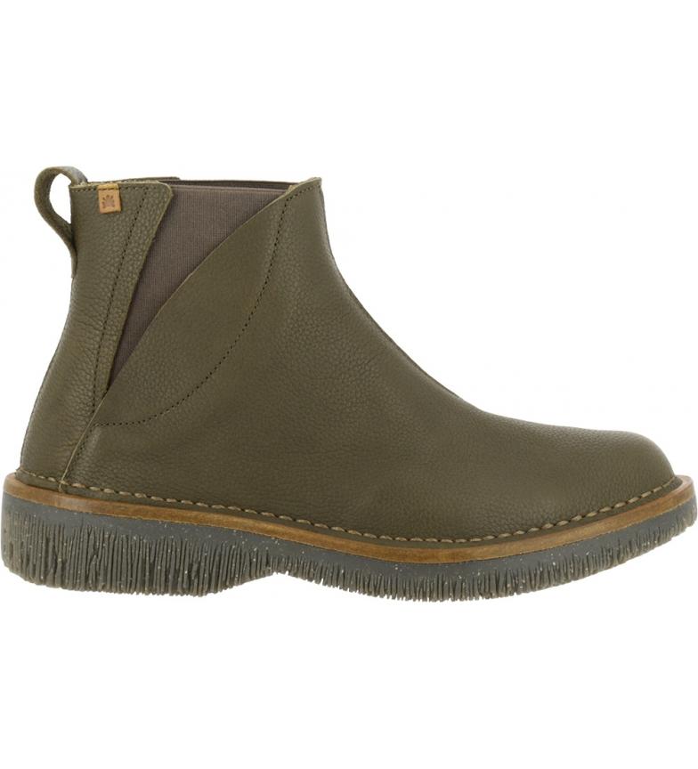 Comprar EL NATURALISTA Stivali in pelle N5570 Soft Grain green