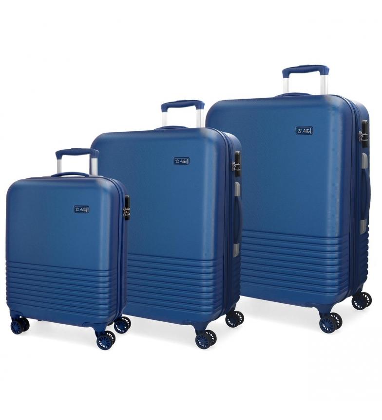 Comprar El Potro Pack de malas El Potro Ride azul 55-69-79cm