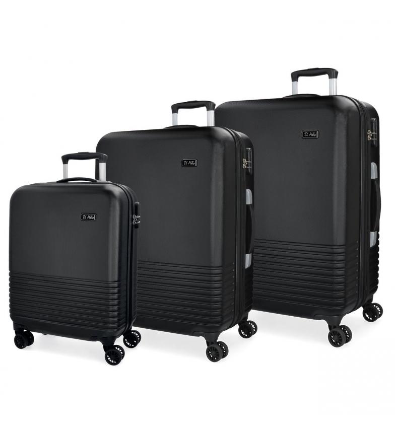 Comprar El Potro Ensemble de valises El Potro Ride noir 55-69-79cm