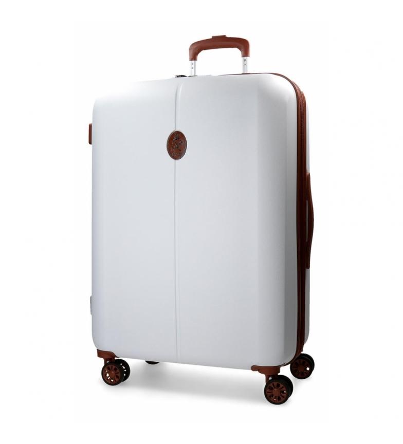 Comprar El Potro Grande valise El Potro Ocuri blanc -48x71x28cm-