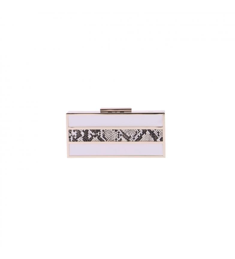 Comprar El Caballo Bolsa de embreagem branca de Cartago -20x9x4 cm