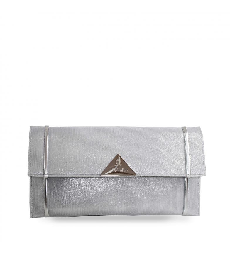Comprar El Caballo Sac de fête Compostelle gris -31x16.5 cm