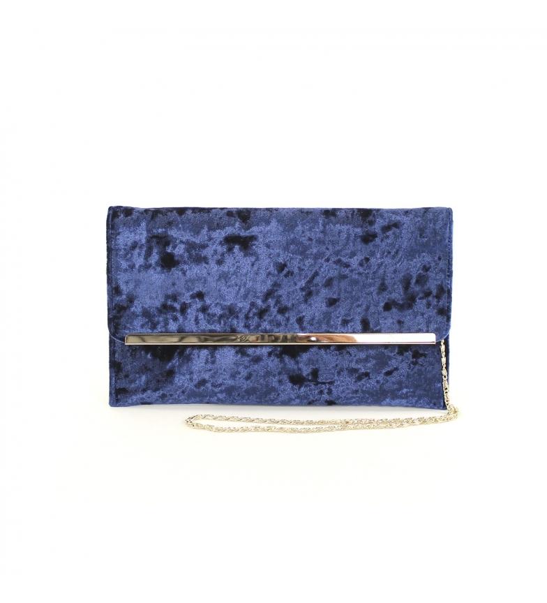 Comprar El Caballo Sac de fête Sancti Petri bleu -30x16x5 cm