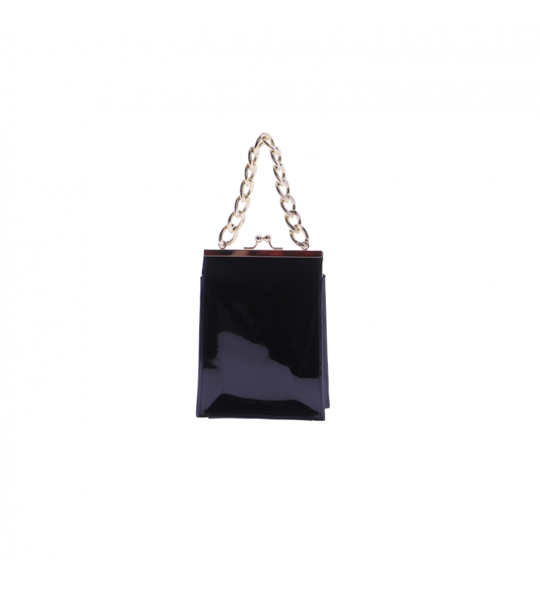 Comprar El Caballo Bolso Sessa negro -14x19x7 cm-