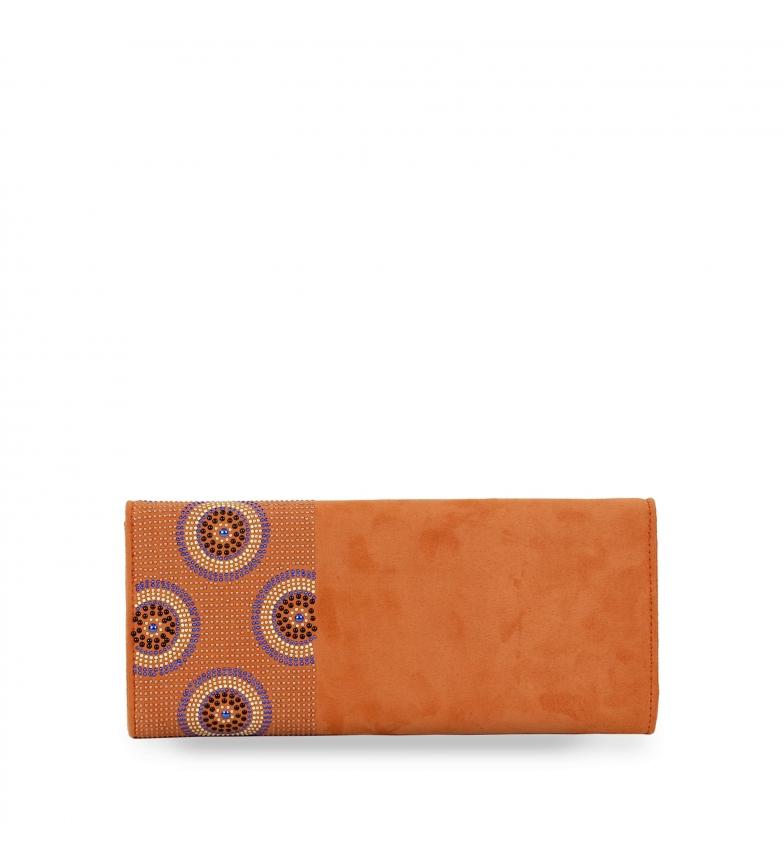Comprar El Caballo Bolso de fiesta Utrera naranja -29x13x3 cm-