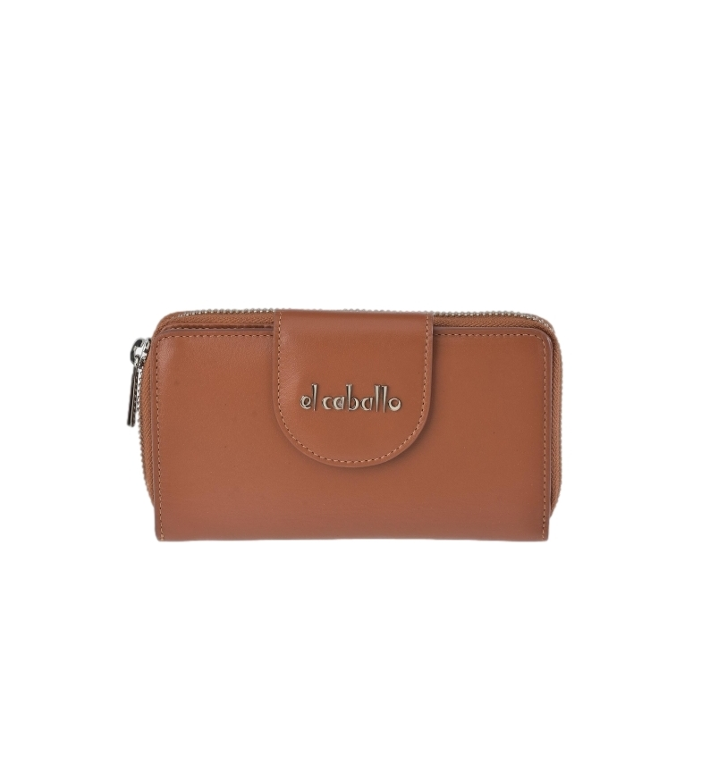 Comprar El Caballo Large Anicalf haban leather coin purse -16x9x3cm