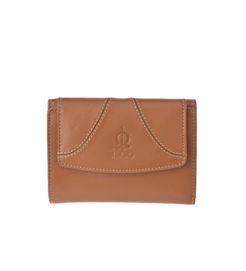 El Caballo Small leather wallet Sedamar leather -13x10x3cm