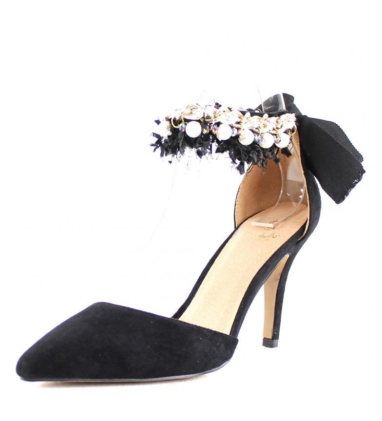 Comprar El Caballo Scarpa da festa Coria nera -Altezza del tacco: 8,5 cm-