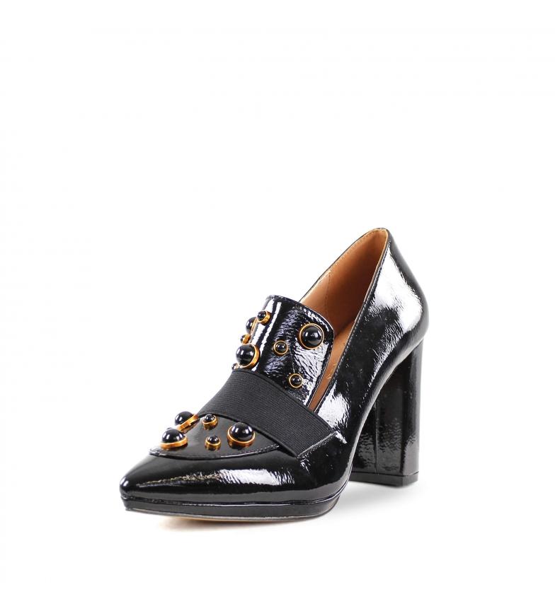 Comprar El Caballo Chaussure deux soeurs noir - hauteur du talon : 9cm