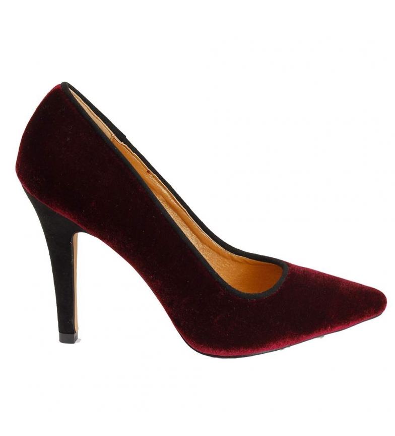 Comprar El Caballo Sapato de festa Bordeaux Palonegro - Altura do calcanhar: 8cm