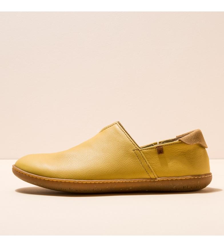 Comprar EL NATURALISTA Leather shoes N275 El Viajero yellow